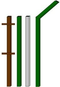 изготовление металлические столбы в Орле